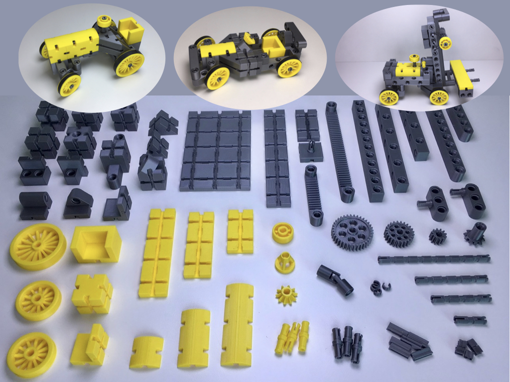 kbricks Teile und Modelle