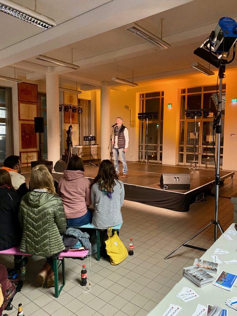 Poetry Slam mit Stefan Unser