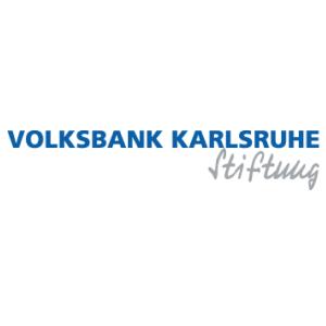 Logo der Volksbank Stiftung Karlsruhe