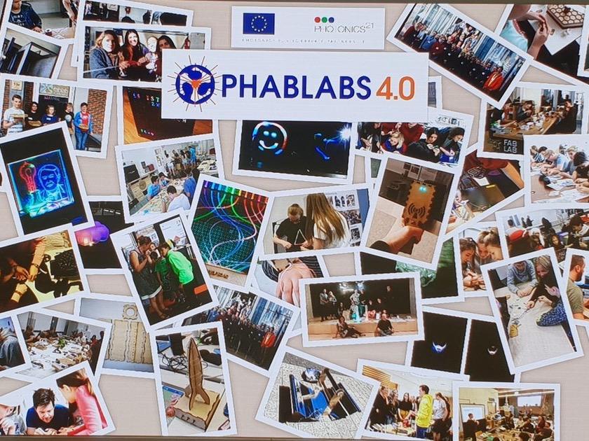 Eindrücke vom EU-Projekt Phablabs 4.0